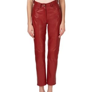 AG  Leather Pants